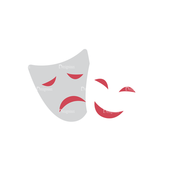 Actor Vector Mask Clip Art - SVG & PNG vector