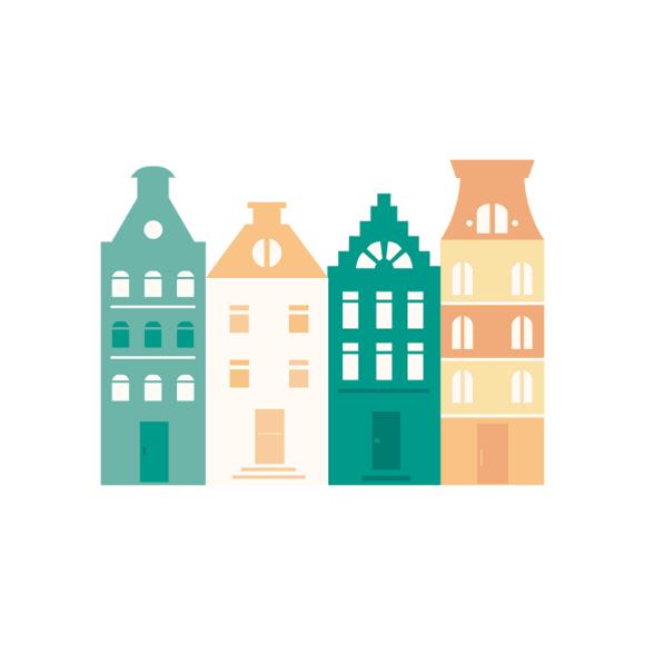 Amsterdam Vector Buildings 1