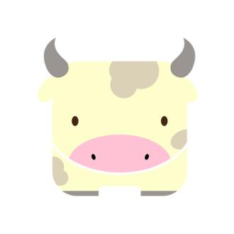 Animals Vector 4 Vector Cow Clip Art - SVG & PNG vector