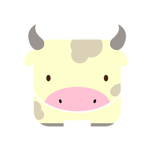 Animals Vector 4 Vector Cow animals vector set 4 vector cow