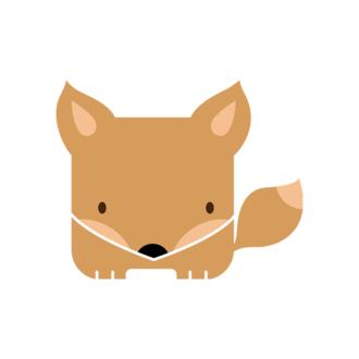 Animals Vector 4 Vector Fox Clip Art - SVG & PNG vector