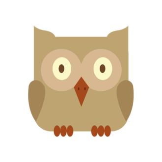 Animals Vector 4 Vector Owl Clip Art - SVG & PNG vector
