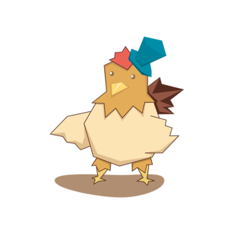 Animals Vector 7 Vector Hen Clip Art - SVG & PNG vector