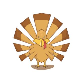 Animals Vector 7 Vector Turkey Clip Art - SVG & PNG vector