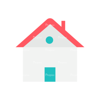 Architect Vector House Clip Art - SVG & PNG vector