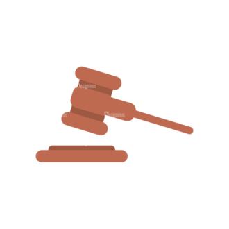 Attorney Vector Hammer Clip Art - SVG & PNG vector