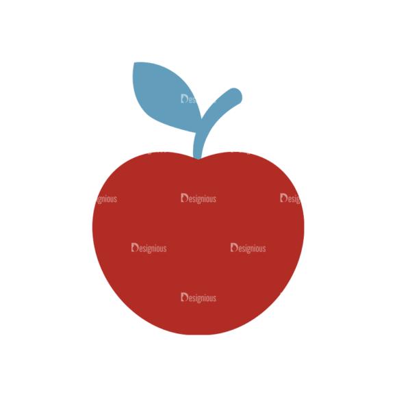 Autumn Scrapbook Elements Vector Set 1 Vector Apple 04 autumn scrapbook elements vector set 1 vector apple 04