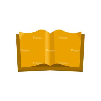 Back To School Vector Elements Vector Book 19 Clip Art - SVG & PNG vector