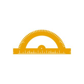 Back To School Vector Elements Vector Ruler 39 Clip Art - SVG & PNG vector