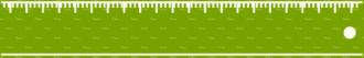 Back To School Vector Elements Vector Ruler 40 Clip Art - SVG & PNG vector