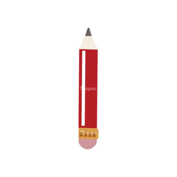 Back To School Vector Flat Vector Pencil 04 back to school vector flat vector pencil 04