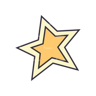 Back To School Vector Set 123 Vector Star Clip Art - SVG & PNG star
