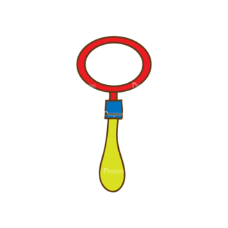 Back To School Vector Set 13 Vector Magnifying Glass Clip Art - SVG & PNG glass