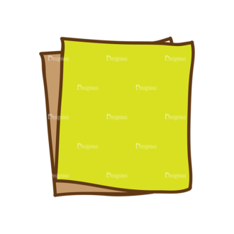 Back To School Vector Set 13 Vector Paper 07 Clip Art - SVG & PNG vector