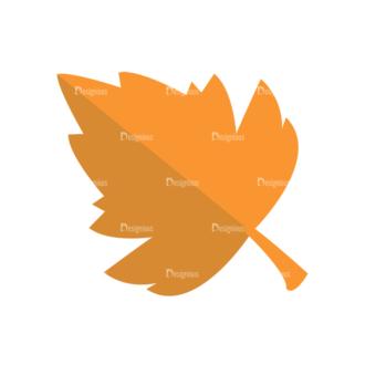 Back To School Vector Set 2 Vector Leaf 04 Clip Art - SVG & PNG leaf