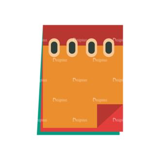 Back To School Vector Set 2 Vector Notes 15 Clip Art - SVG & PNG vector