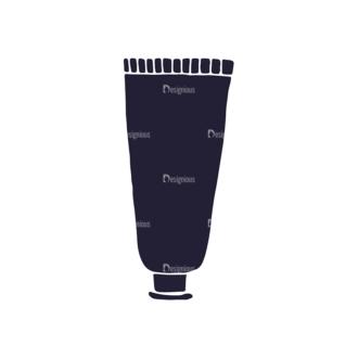 Barber Shop Vintage Vector Set  Vector Small Paste Clip Art - SVG & PNG vector