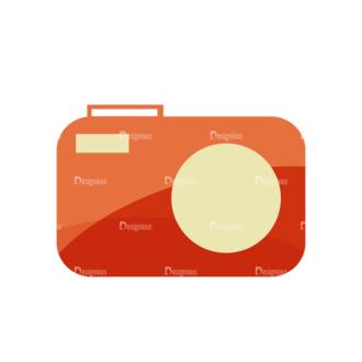 Beach Vector Icons Vector Camera Clip Art - SVG & PNG vector