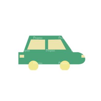 Beach Vector Icons Vector Car Clip Art - SVG & PNG vector