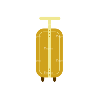 Beach Vector Icons Vector Luggage Bag 29 Clip Art - SVG & PNG vector