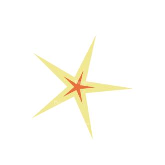 Beach Vector Icons Vector Satr Clip Art - SVG & PNG vector