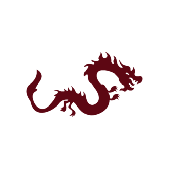 Beijing Vector Dragon Clip Art - SVG & PNG vector