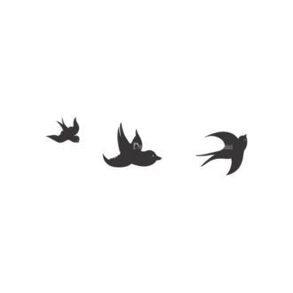 Birds Vector 6 8 Clip Art - SVG & PNG vector