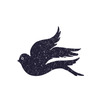 Birds Vintage Vector 2 Vector Bird 07 Clip Art - SVG & PNG vector