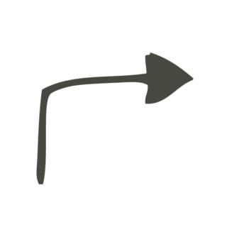 Business Idea Doodle Set 1 Vector Arrow 02 Clip Art - SVG & PNG vector