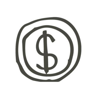 Business Idea Doodle Set 1 Vector Money 56 Clip Art - SVG & PNG vector