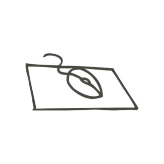 Business Idea Doodle Set 1 Vector Mouse Clip Art - SVG & PNG vector