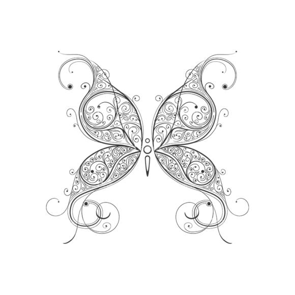 Butterflies Vector 4 3 1