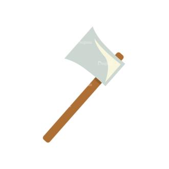 Carpenter Vector Axe Clip Art - SVG & PNG vector