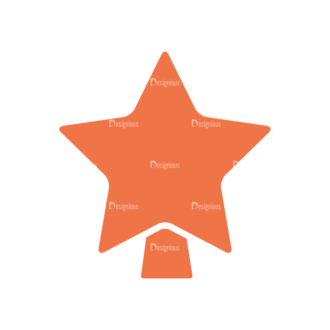 Christmas Holiday Icons Vector Set 1 Vector Star Clip Art - SVG & PNG star