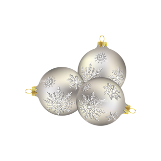 Christmas Tree Ornaments Vector Christmas Ball 01 Clip Art - SVG & PNG tree