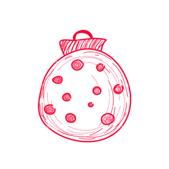 Christmas Tree Ornaments Vector Christmas Ball 07 Clip Art - SVG & PNG tree