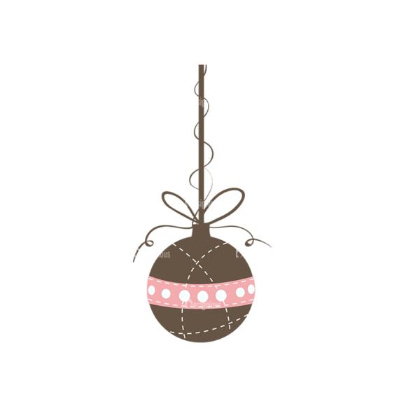 Christmas Tree Ornaments Vector Christmas Ball 14 1