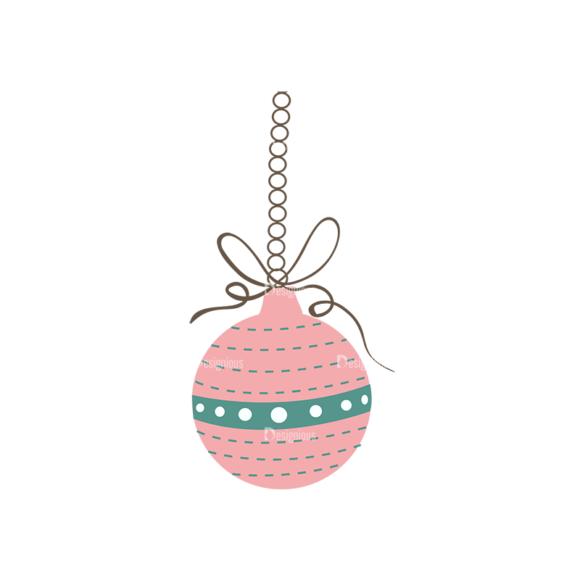 Christmas Tree Ornaments Vector Christmas Ball 15 1