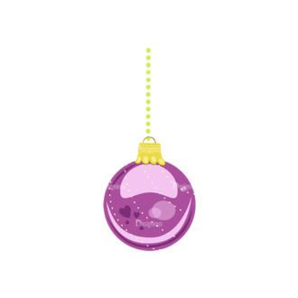 Christmas Tree Ornaments Vector Christmas Ball 17 Clip Art - SVG & PNG tree