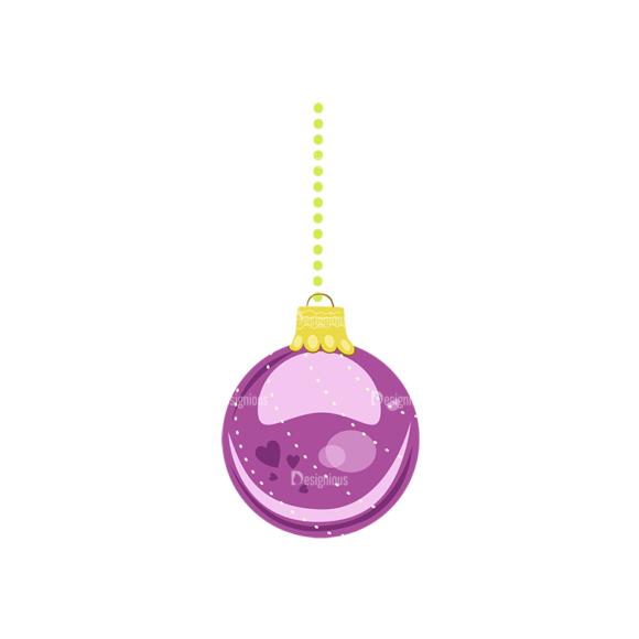 Christmas Tree Ornaments Vector Christmas Ball 17 1