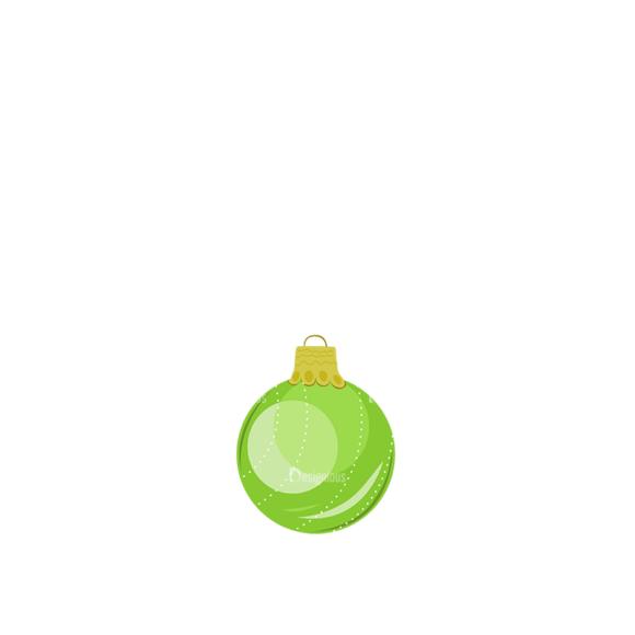 Christmas Tree Ornaments Vector Christmas Ball 18 1