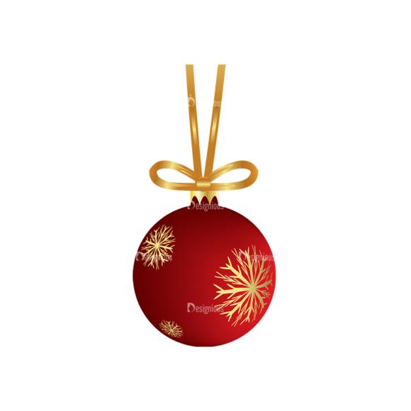 Christmas Tree Ornaments Vector Christmas Ball 20 1