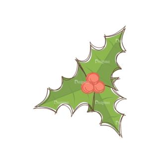Christmas Tree Ornaments Vector Mistletoe 11 Clip Art - SVG & PNG tree