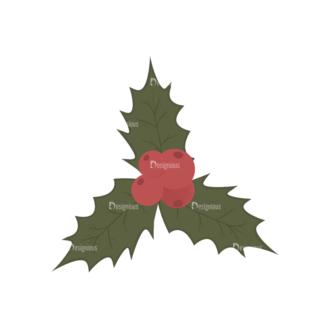 Christmas Tree Ornaments Vector Mistletoe 19 Clip Art - SVG & PNG tree