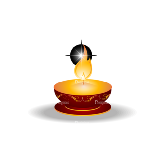 Christmas Vector Candles Vector Candle 08 Clip Art - SVG & PNG vector