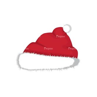 Christmas Vector Santa Vector Santas Hat 16 Clip Art - SVG & PNG vector