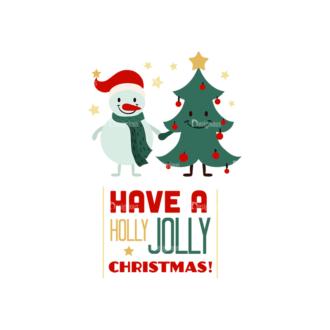Christmas Vector Set 16 Vector Jolly Christmas Clip Art - SVG & PNG vector