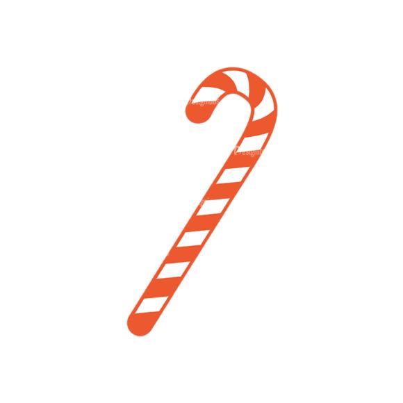 Christmas Vector Set 9 Vector Candy Cane 06 1