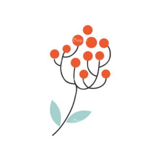 Christmas Vector Set 9 Vector Mistletoe Plant 18 Clip Art - SVG & PNG vector