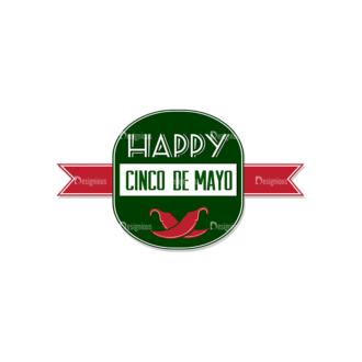 Cinco De Mayo Vector Elements Vector Happy Cinco 07 Clip Art - SVG & PNG vector